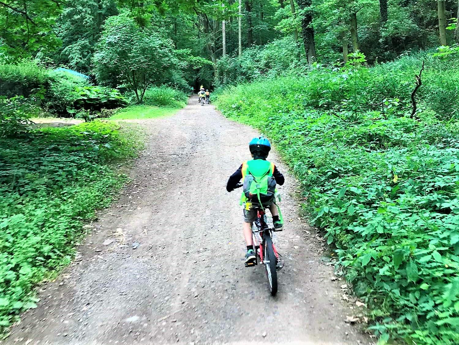 cyklotábor Ládví inlineškola2